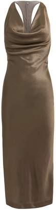 Cushnie Cowl Neck Pencil Dress