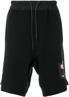 Marcelo Burlon County of Milan snake track shorts