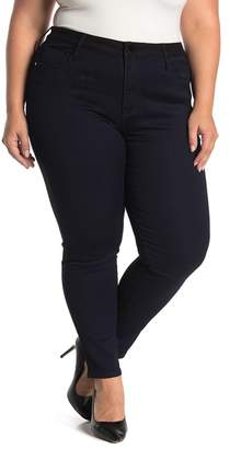 Seven7 Ultra High Rise Colorblock Jeggings (Plus Size)
