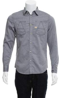 G Star Douglas Oxford Chambray Work Shirt w/ Tags