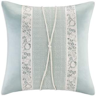 Natori Canton Square Decorative Pillow, 18 x 18