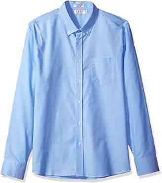 Izod Uniform Young Men's Long Sleeve Oxford Shirt