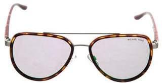 Michael Kors Tortoiseshell Aviator Sunglasses
