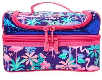 Girls Smiggle Paradise Double Decker Lunchbox - Purple