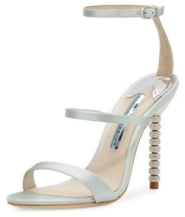 Sophia Webster Rosalind Strappy Bridal Sandal, Ice Blue