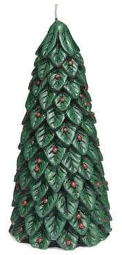 Glucksteinhome Holiday Charms Green Tree Candle