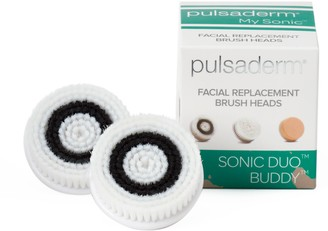Pulsaderm Sonic Duo Buddy 2-pk. Facial Replacement Brush Heads - Normal Skin