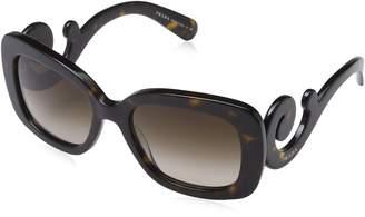 Prada Women's Baroque Square Sunglasses
