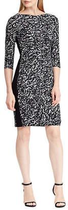 Lauren Ralph Lauren Printed Slim-Fit Dress