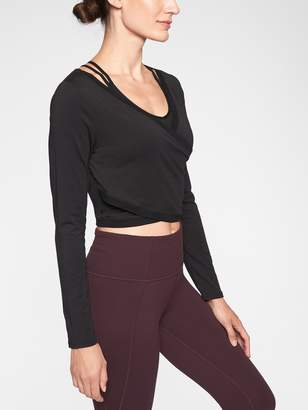 Athleta Encore Wrap Top