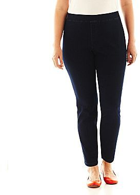 JCPenney St. John's Bay® Denim Leggings - Plus