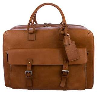 Dunhill Leather 48 Hour Bag