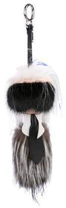 Fendi Karlito Fox Fur Bag Charm