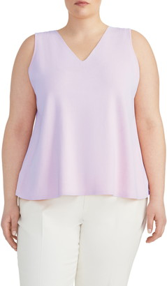 Rachel Roy Collection V-Neck Knit Swing Top