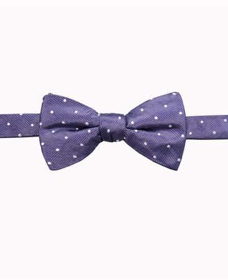Ryan Seacrest Distinction Men's Burke Dot Pre-Tied Silk Bow Tie, Created for Macy's