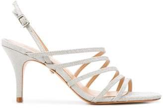 Schutz glitter strappy sandals