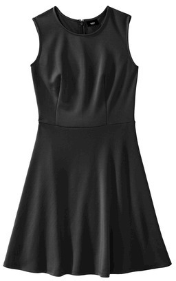 Mossimo Petities Fit and Flare Scuba Dress - Assorted Colors