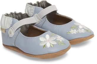 Robeez R) Pretty in Blue Mary Jane Crib Shoe