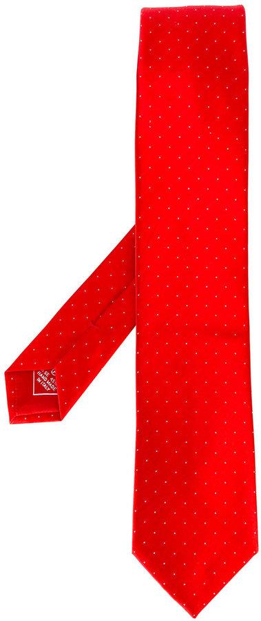 BrioniBrioni micro dotted pattern tie