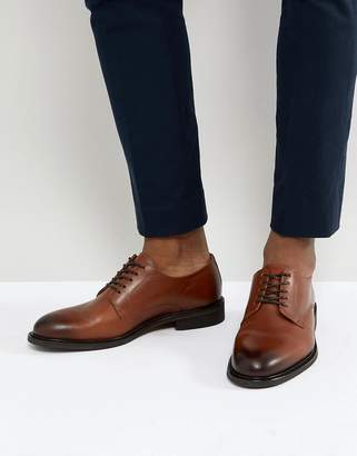 Selected Leather Derby Shoes