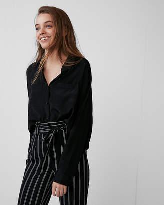 Express Long Sleeve Boxy Shirt