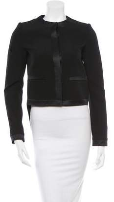 Givenchy Wool High-Low Jacket