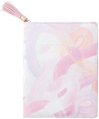 Indigo Paper Refill Tassel Zip Journal - Bloom Baby - She Designed, Yellow
