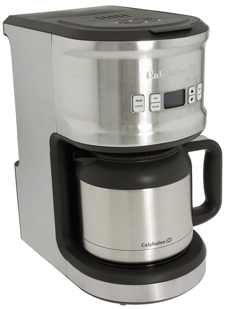 Calphalon 1800541 Quick Brew 10-Cup Thermal Coffee Maker (Stainless Steel) - Home