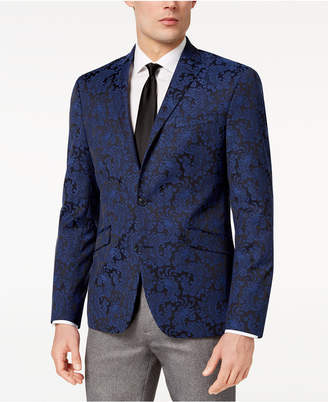 Kenneth Cole Reaction Men Slim-Fit Stretch Paisley Dinner Jacket, Online Only