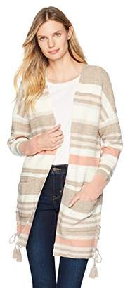 Lucky Brand Women's Stripe Cardigan Sweater