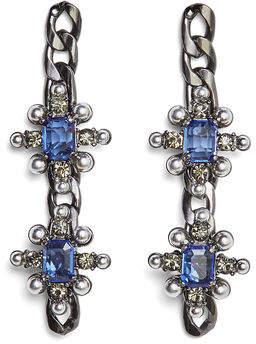 BCBGMAXAZRIA Chain Spike Earring
