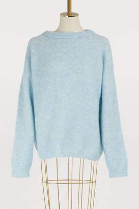 Acne Studios Dramatic wool and mohair sweater
