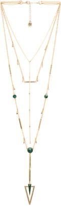 House of Harlow South Point Layered Necklace $168 thestylecure.com