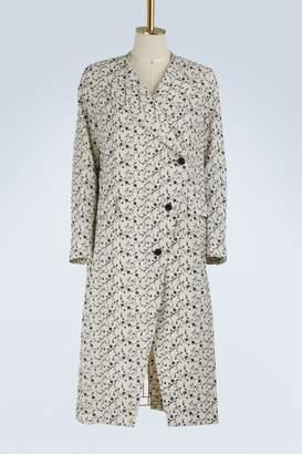 Aalto Printed flowers coat