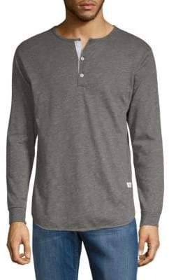 Kinetix Madrid Cotton-Blend Henley