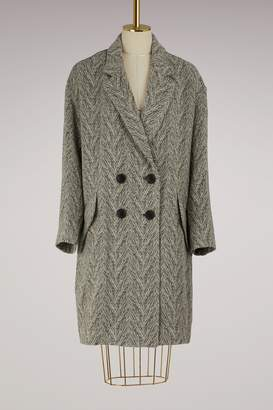 Etoile Isabel Marant Wool Fimo coat