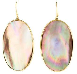 Ippolita 18K Mother of Pearl Polished Rock Candy Earrings
