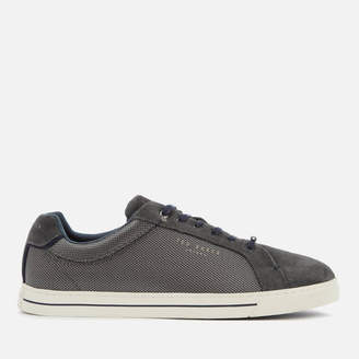 Ted Baker Men's Eeril Suede/Textile Low Top Trainers