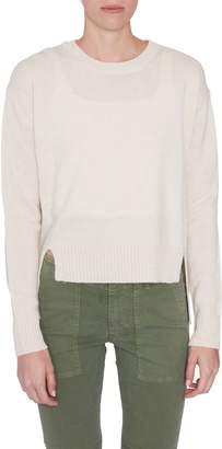 Rosetta Getty Cropped Cashmere Sweater