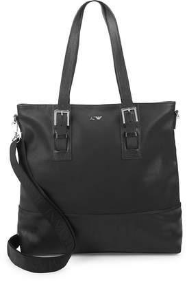 Armani Jeans Large Leather Shoulder Bag