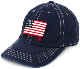 Polo Ralph Lauren embroidered flag cap