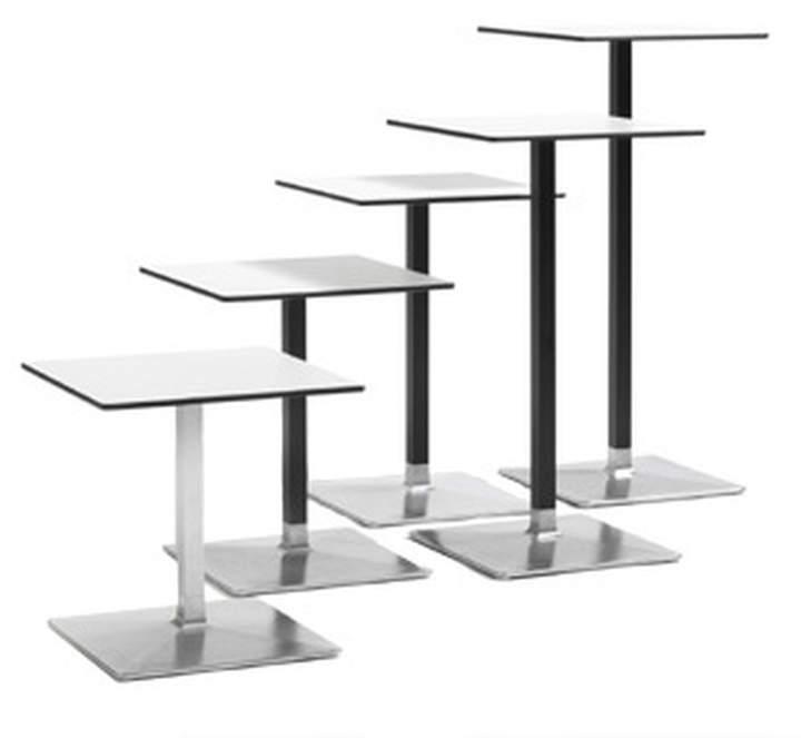 Blå Station AB - Level Tisch, 70 x 70 cm, Höhe: 72 cm