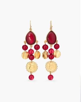 Merlot Chandelier Earrings