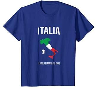 Italy shirt - Italian flag & map souvenir clothing