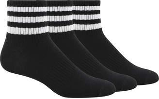 adidas 3-Pk. Cotton ClimaLite Quarter Socks