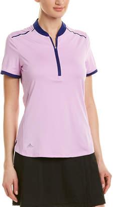 adidas Golf Climacool Zipper Polo