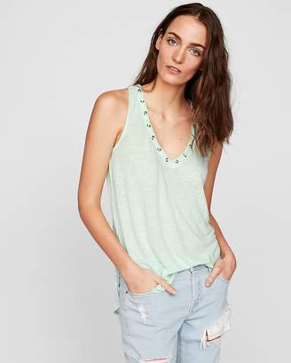 Express One Eleven Lace-Up London Tank