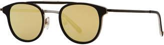 Garrett Leight Van Buren Square Foldable Sunglasses