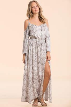 fa8d400a1cd ... Elan International Cold-Shoulder Maxi Dress