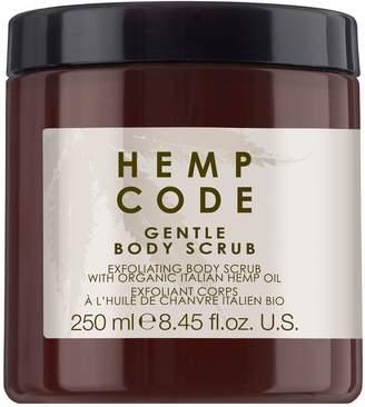 Hemp Code Exfoliating Body Scrub with Italian Hemp Oil